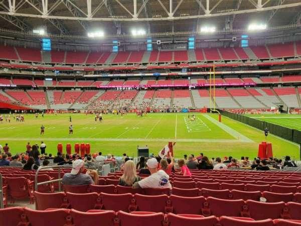 State Farm Stadium, section: 129, row: 20, seat: 14