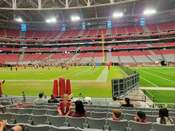 State Farm Stadium, section: 128, row: 8, seat: 11