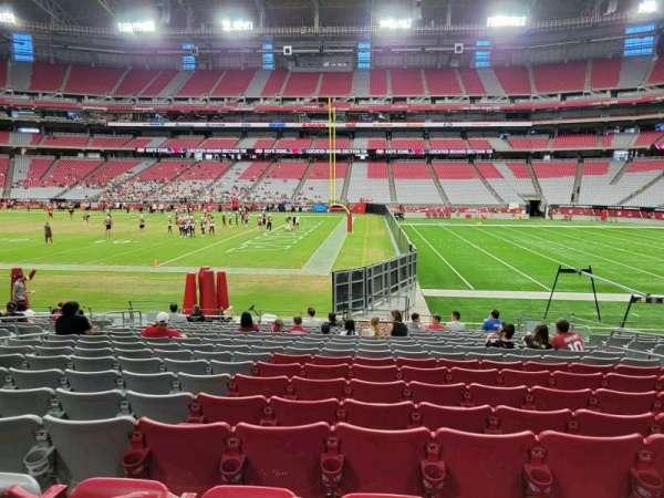 State Farm Stadium, section: 128, row: 15, seat: 8