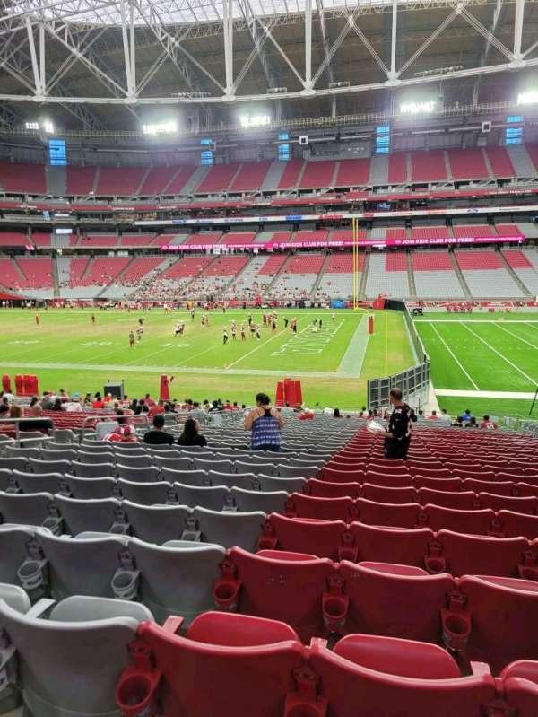 State Farm Stadium, section: 128, row: 29, seat: 9