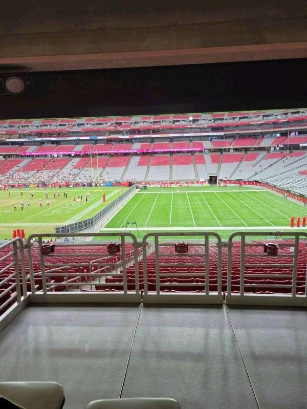 State Farm Stadium, section: 126, row: 41, seat: 10