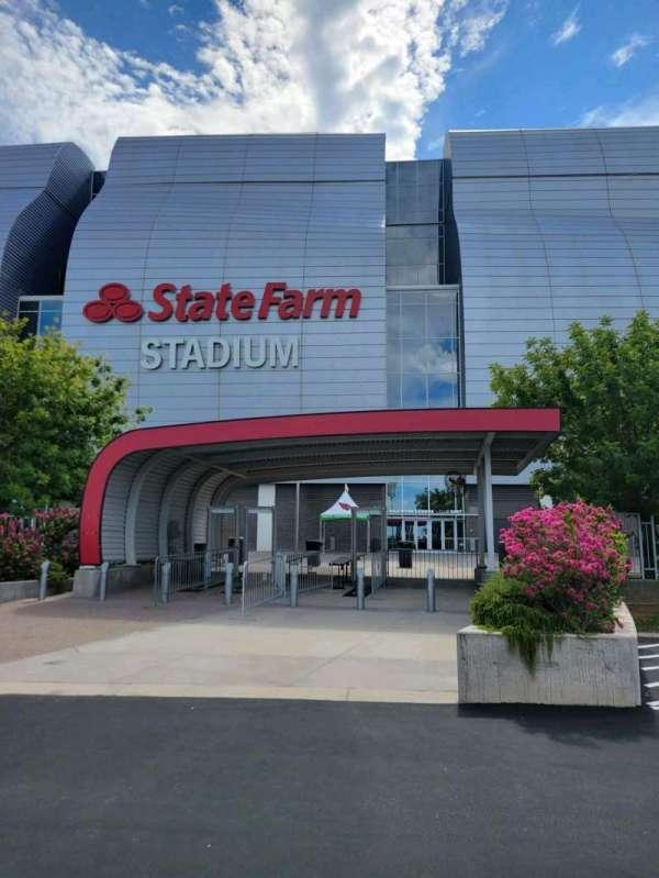 State Farm Stadium, section: Gila river club east