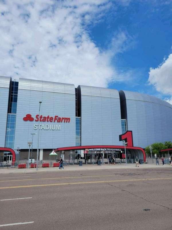 State Farm Stadium, section: Gate 1