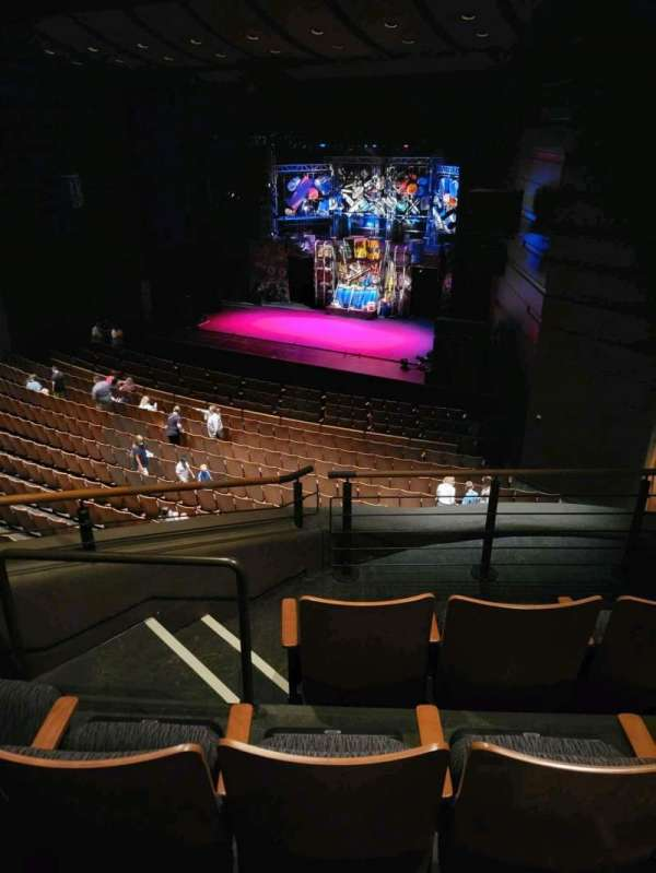 Bass Concert Hall, section: R1, row: D, seat: 477