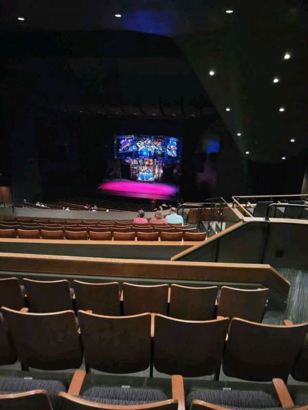 Bass Concert Hall, section: URC1, row: V, seat: 438