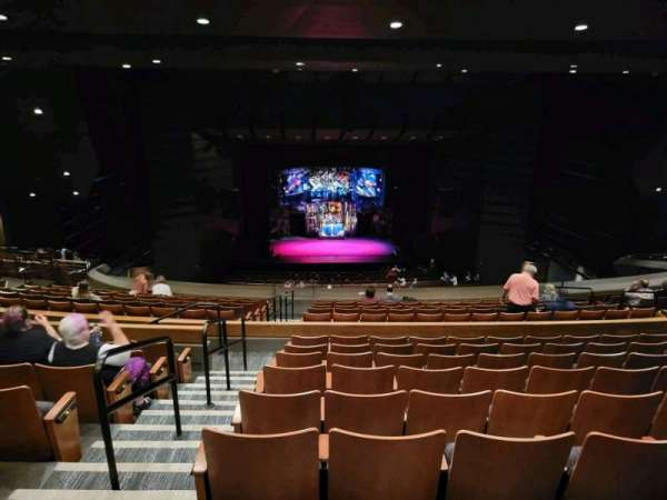 Bass Concert Hall, section: UC1, row: Y, seat: 413