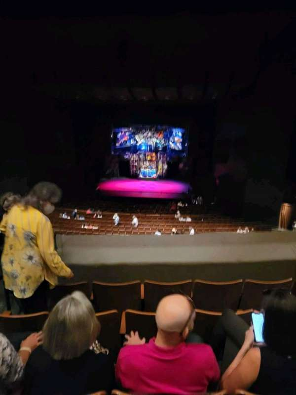 Bass Concert Hall, section: RC1, row: M, seat: 432