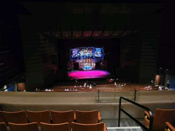 Bass Concert Hall, section: LC1, row: M, seat: 416