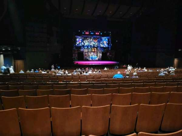 Bass Concert Hall, section: Orchestra, row: BB, seat: 110