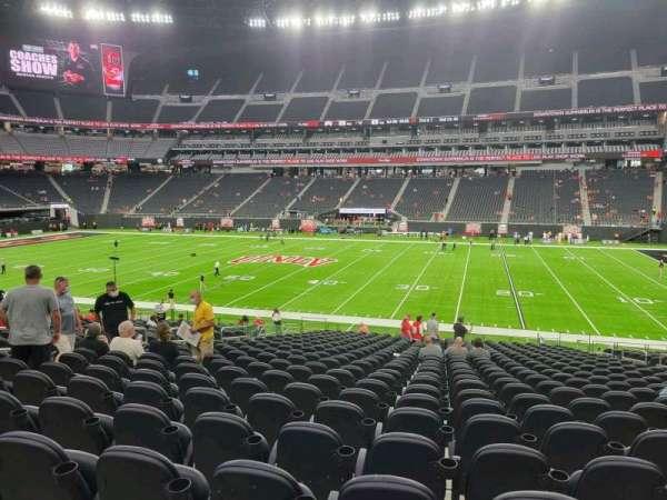 Allegiant Stadium, section: C132, row: 26, seat: 10