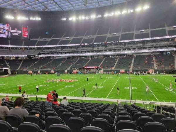 Allegiant Stadium, section: C132, row: 15, seat: 3