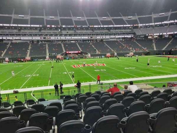 Allegiant Stadium, section: C135, row: 12, seat: 10