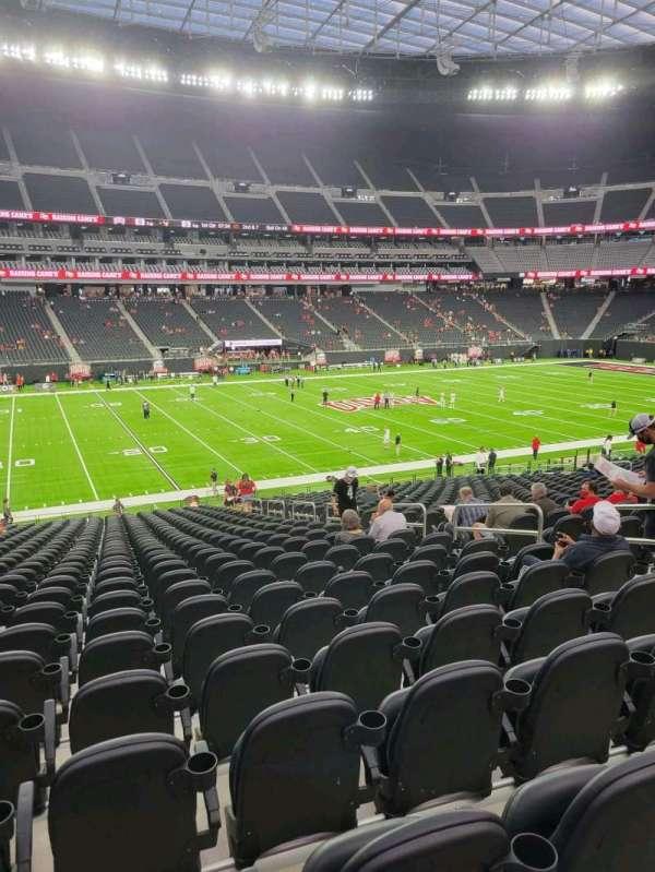 Allegiant Stadium, section: C137, row: 30, seat: 7