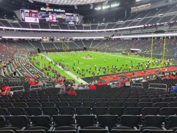 Allegiant Stadium, section: 104, row: 32, seat: 13