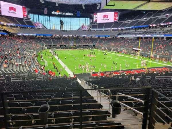 Allegiant Stadium, section: 126, row: 37A, seat: 1
