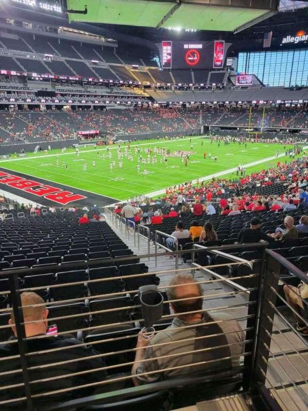 Allegiant Stadium, section: 119, row: 37A, seat: 1