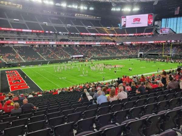 Allegiant Stadium, section: 117, row: 29, seat: 17