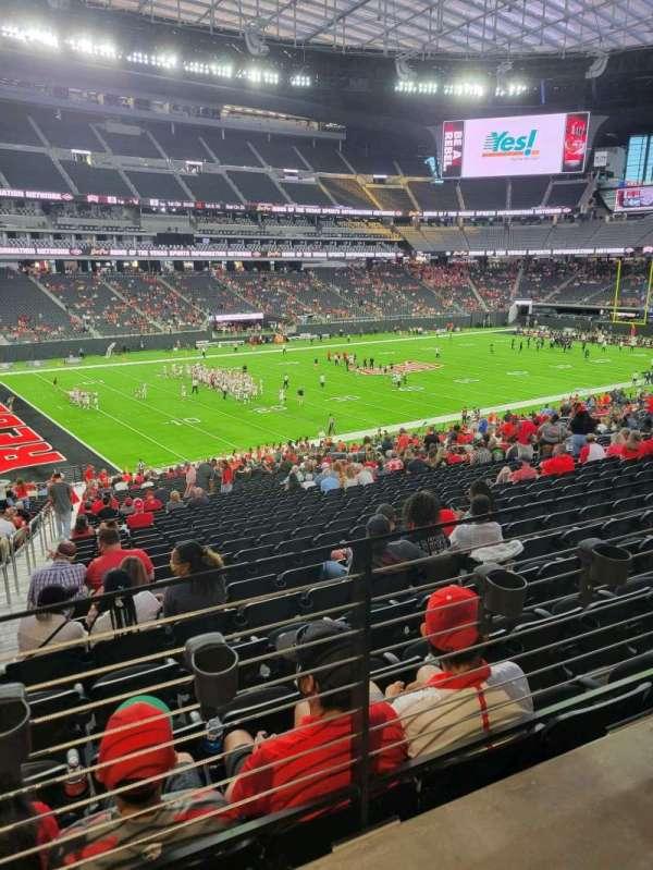 Allegiant Stadium, section: 117, row: 37A, seat: 20