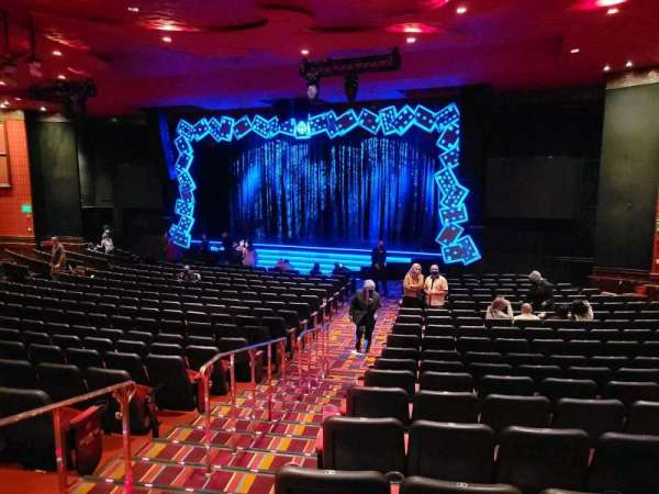 The Mirage Theatre, section: 103, row: H, seat: 2