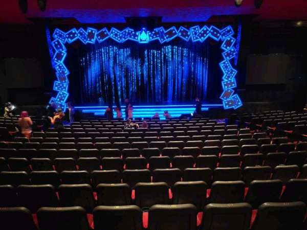 The Mirage Theatre, section: 102, row: E, seat: 13