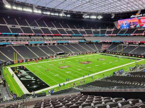 Allegiant Stadium, section: 242, row: 12, seat: 9