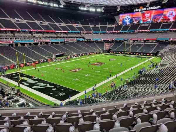 Allegiant Stadium, section: 244, row: 7, seat: 10
