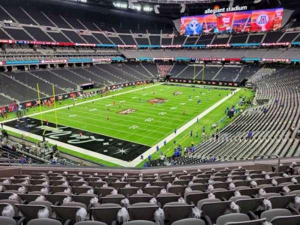 Allegiant Stadium, section: 245, row: 10, seat: 10