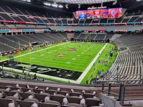 Allegiant Stadium, section: 246, row: 6, seat: 10