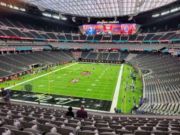 Allegiant Stadium, section: 247, row: 10, seat: 10