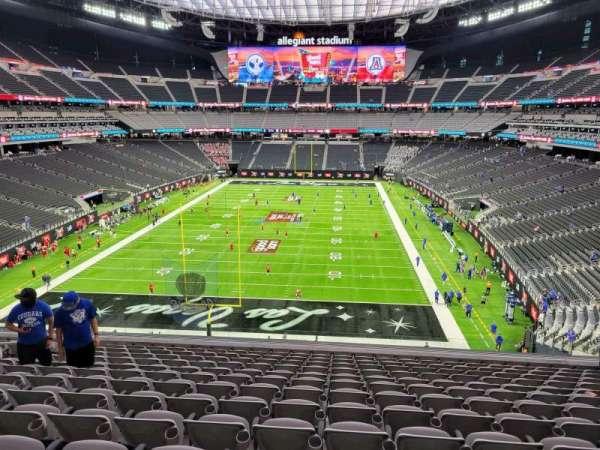 Allegiant Stadium, section: 248, row: 13, seat: 13