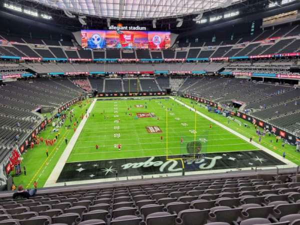Allegiant Stadium, section: 202, row: 11, seat: 11