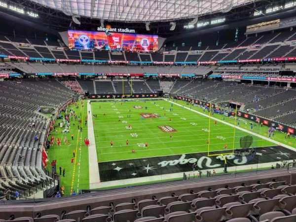 Allegiant Stadium, section: 203, row: 7, seat: 10