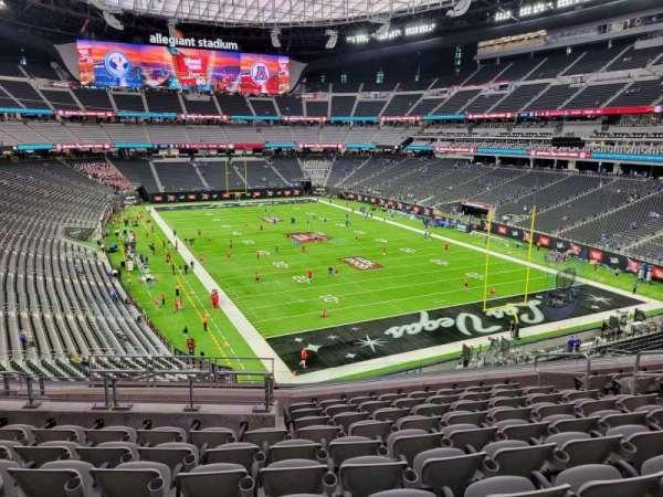 Allegiant Stadium, section: 204, row: 10, seat: 10