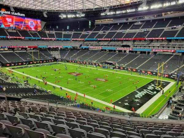 Allegiant Stadium, section: 207, row: 11, seat: 11