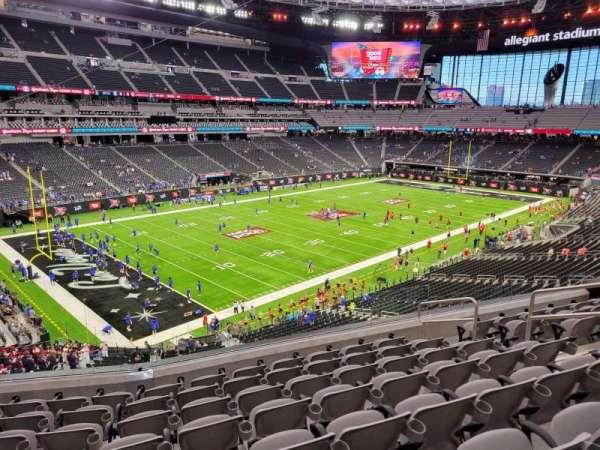 Allegiant Stadium, section: 219, row: 8, seat: 8