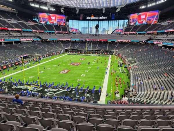 Allegiant Stadium, section: 223, row: 9, seat: 10