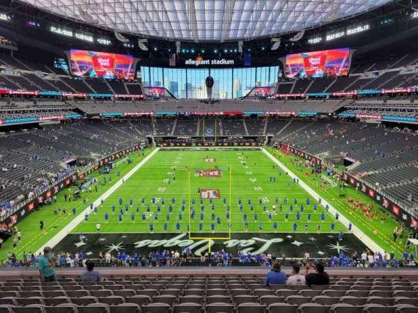 Allegiant Stadium, section: 225, row: 12, seat: 12