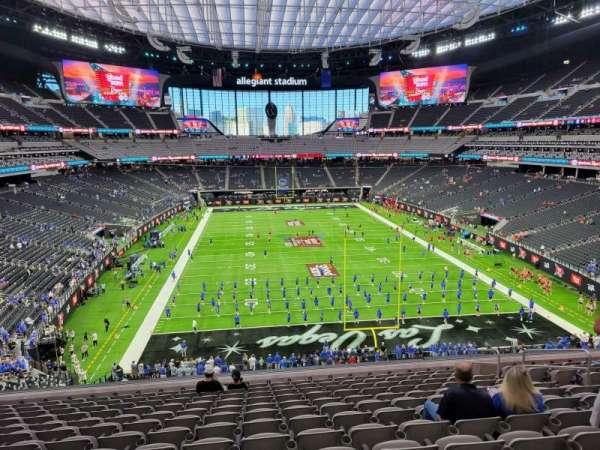 Allegiant Stadium, section: 226, row: 13, seat: 10