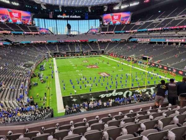 Allegiant Stadium, section: 227, row: 7, seat: 10