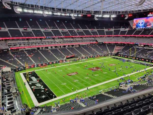 Allegiant Stadium, section: 343, row: 7, seat: 13