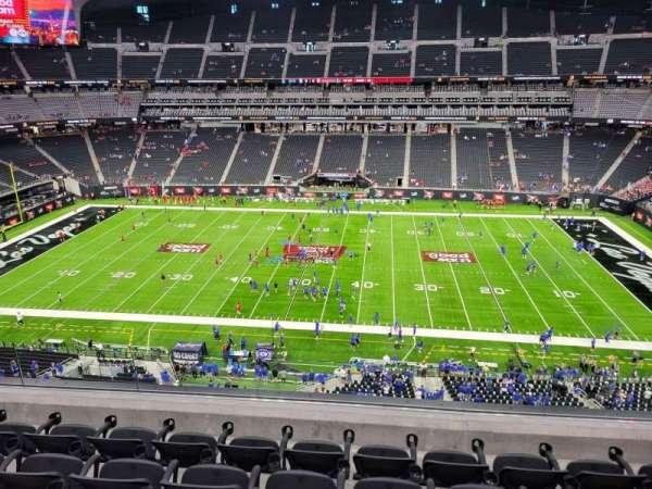 Allegiant Stadium, section: 337, row: 5, seat: 13