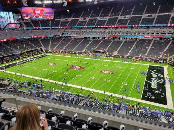Allegiant Stadium, section: 334, row: 5, seat: 15