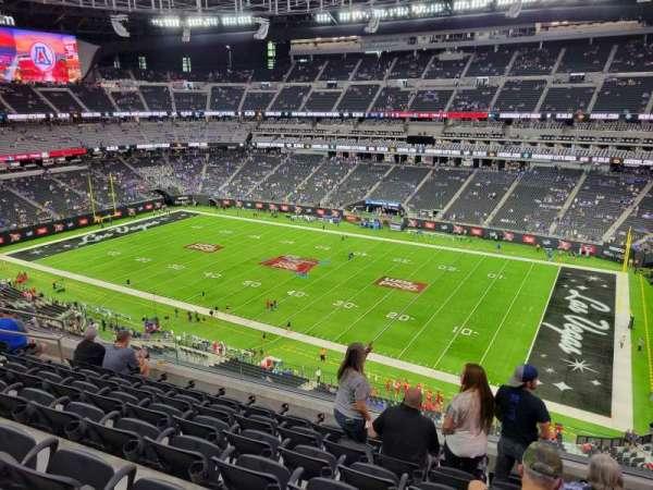 Allegiant Stadium, section: 308, row: 7, seat: 10