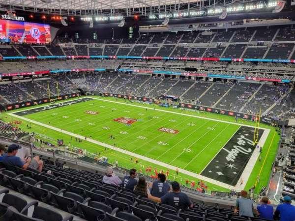 Allegiant Stadium, section: 307, row: 9, seat: 10