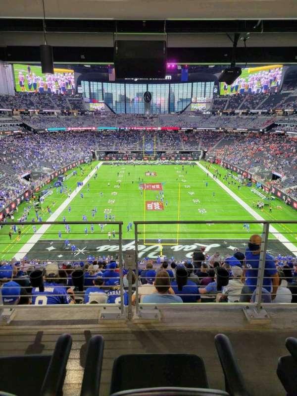 Allegiant Stadium, section: 225, row: 15A, seat: 13