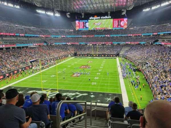 Allegiant Stadium, section: 247, row: 7, seat: 22