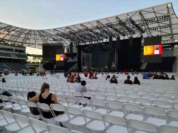 Banc of California Stadium, section: Floor B5, row: 19, seat: 26