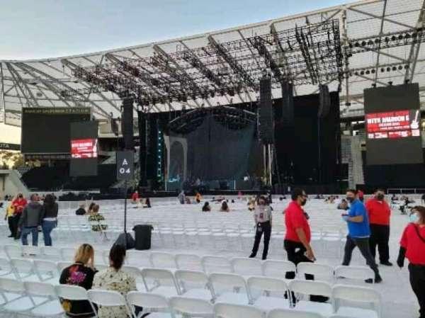 Banc of California Stadium, section: Floor b4, row: 7, seat: 26
