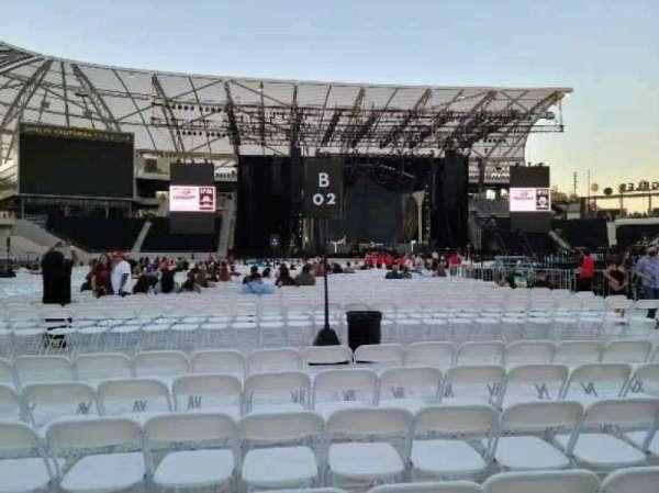 Banc of California Stadium, section: Floor C2, row: 7, seat: 15