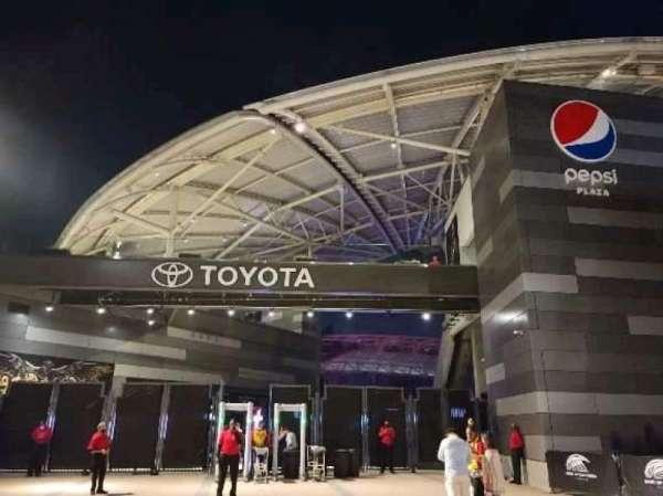 Banc of California Stadium, section: northwest gate
